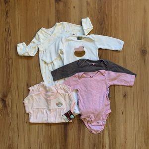 Baby bundle onesies sleeper Ralph Lauren Carter's